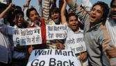 Protests in India over retail reforms